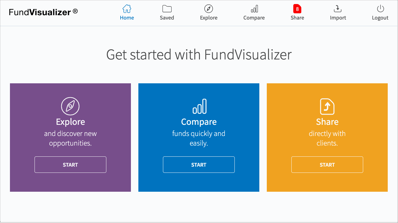 Get started with FundVisualizer